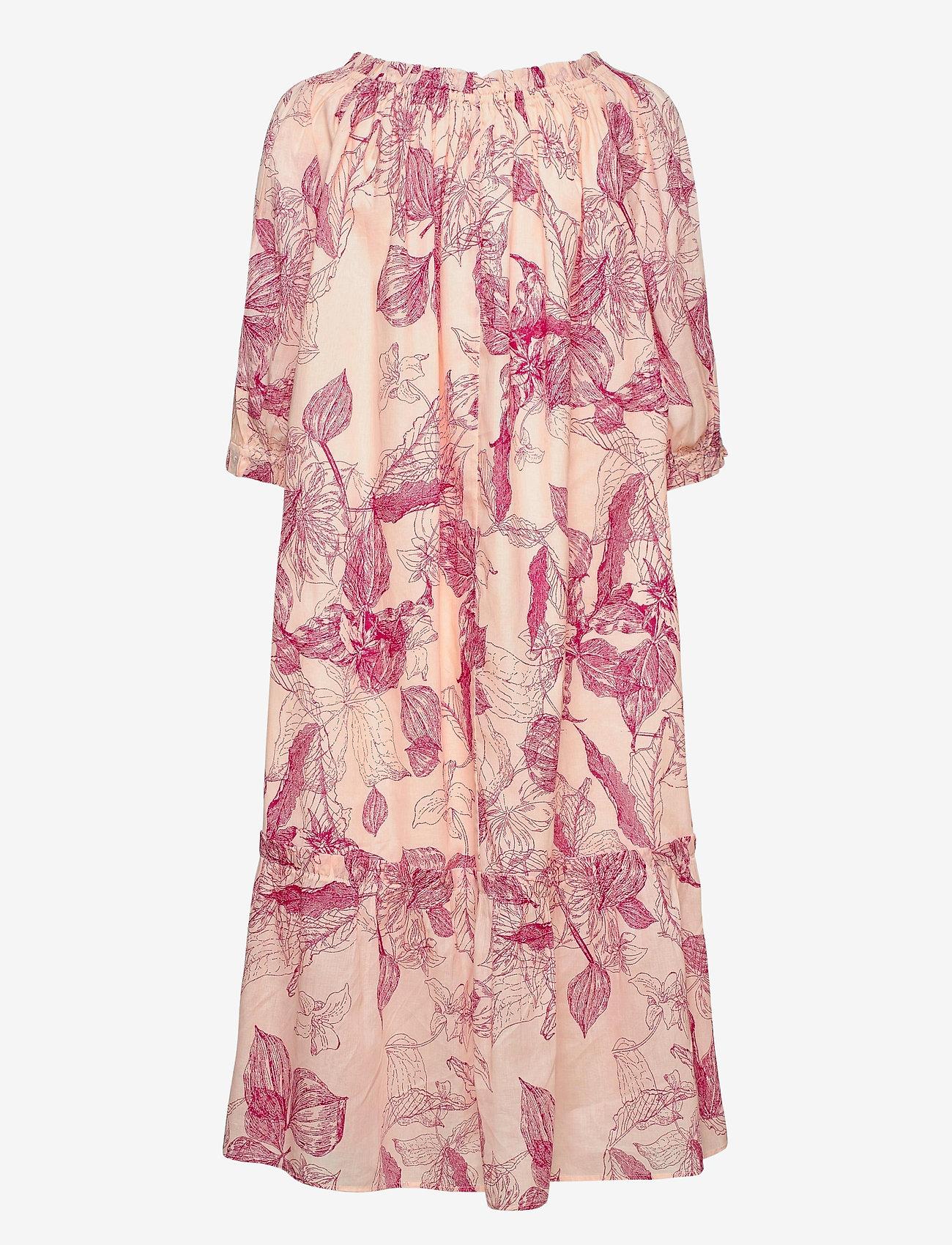 2NDDAY - 2ND Sam Domingo - summer dresses - domingo pink - 1