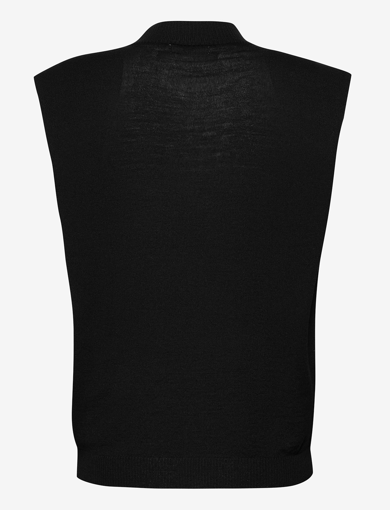 2NDDAY - 2ND Sonny Thinktwice - knitted vests - black - 1