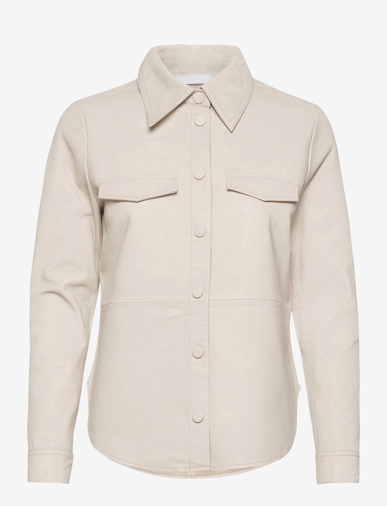 2NDDAY - 2ND Diane - long-sleeved shirts - silver birch - 0