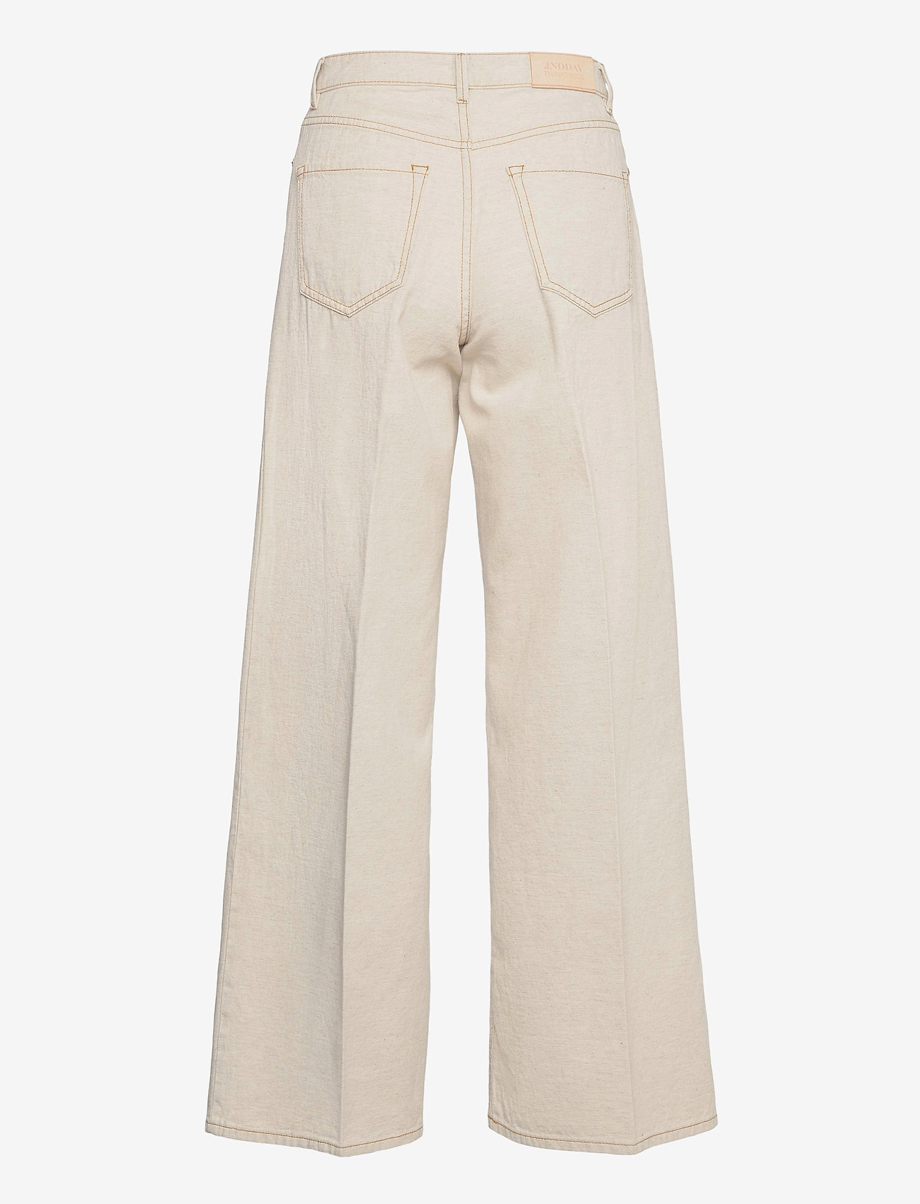 2NDDAY - 2ND Frecla Thinktwice - wide leg trousers - jet stream - 1