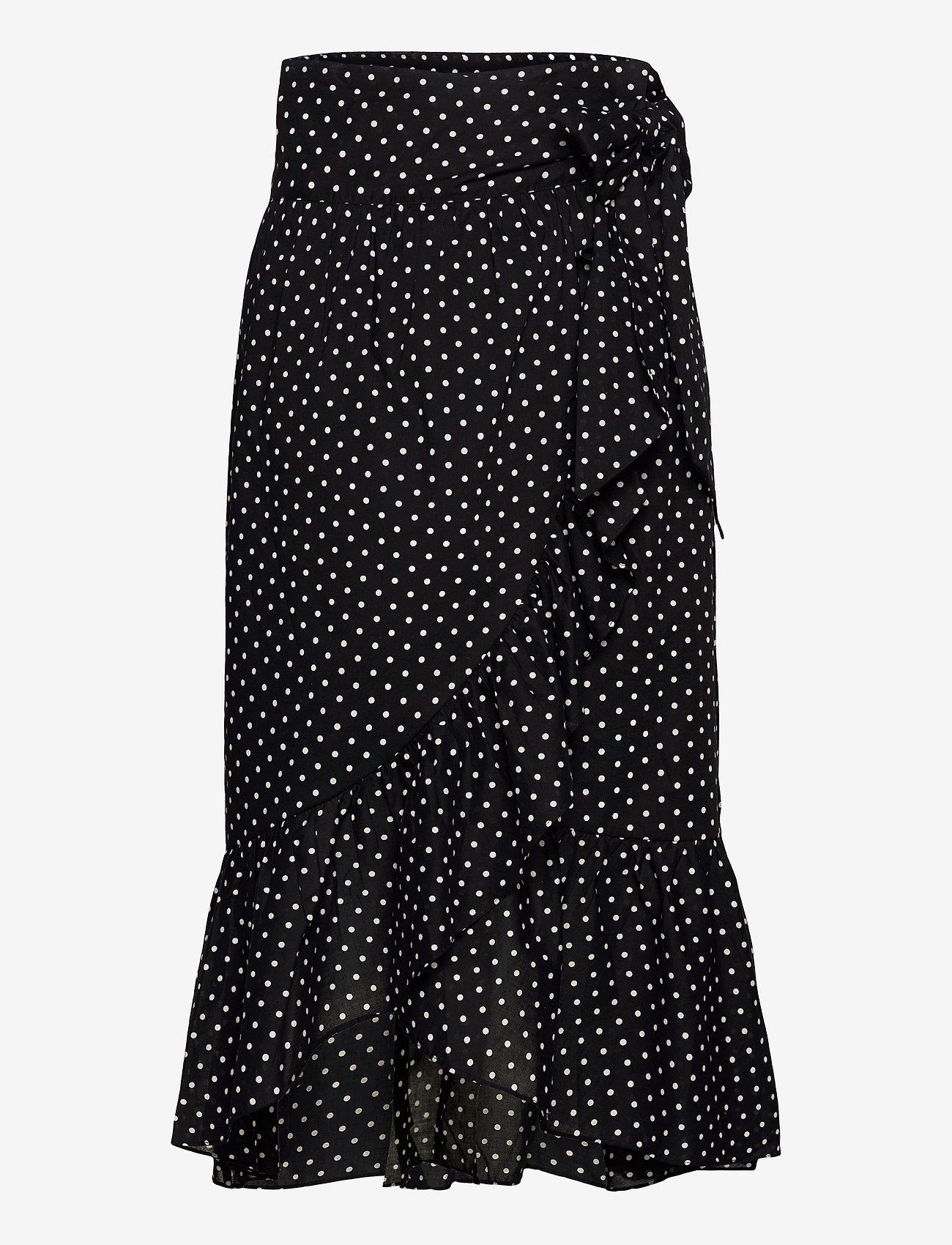 2NDDAY - 2ND Mora Dot ThinkTwice - midi skirts - black - 1