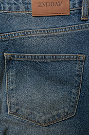 2NDDAY - 2ND Stevie Original - suorat - indigo stone wash - 5