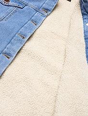 2NDDAY - 2ND Dean - spijkerjassen - indigo heavy enzyme - 4