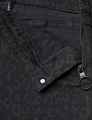 2NDDAY - 2ND Jeanett Leopard - skinny jeans - black denim - 4