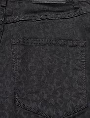 2NDDAY - 2ND Jeanett Leopard - skinny jeans - black denim - 5