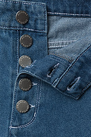 2NDDAY - 2ND Marill - straight jeans - indigo heavy enzyme - 3