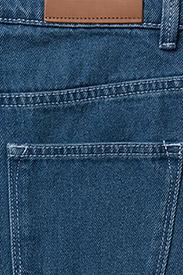 2NDDAY - 2ND Marill - straight jeans - indigo heavy enzyme - 4
