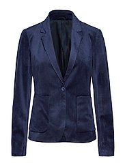 2ND July Velvet - NAVY BLAZER