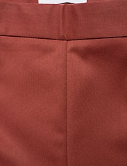 2NDDAY - 2ND July - straight leg trousers - red ochre - 3