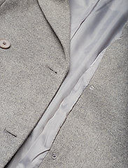 2NDDAY - 2ND Dusterly - wool coats - medium grey mel. - 5