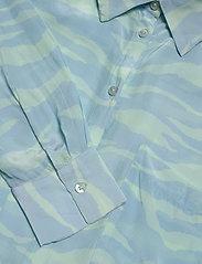 2NDDAY - 2ND Gwen Zebra - pitkähihaiset paidat - brook green - 2