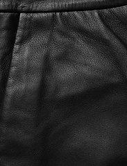 2NDDAY - 2ND Muda - pantalons en cuir - black - 4