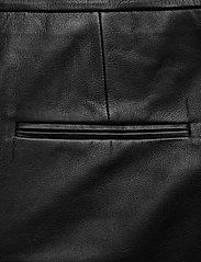 2NDDAY - 2ND Muda - pantalons en cuir - black - 6