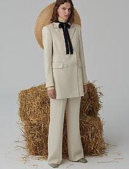 2NDDAY - 2ND Annie ThinkTwice - straight leg trousers - broken white - 0