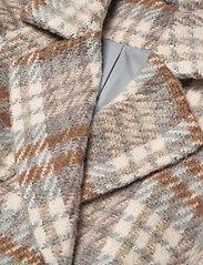 2NDDAY - 2ND Lana Check - wool jackets - faded denim - 2