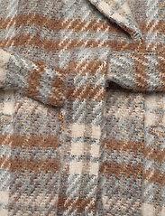 2NDDAY - 2ND Lana Check - wool jackets - faded denim - 3