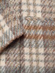 2NDDAY - 2ND Lana Check - wool jackets - faded denim - 4