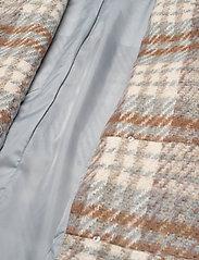 2NDDAY - 2ND Lana Check - wool jackets - faded denim - 5
