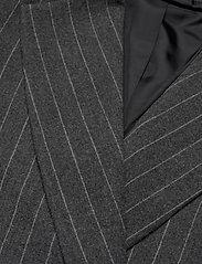 2NDDAY - 2ND Brook Pinstripe - getailleerde blazers - dark grey mel. - 2