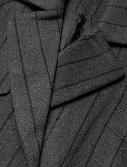 2NDDAY - 2ND Livia Pinstripe - wollen jassen - dark grey mel. - 2