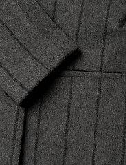 2NDDAY - 2ND Livia Pinstripe - wollen jassen - dark grey mel. - 3