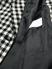 2NDDAY - 2ND Duster Check - wollen jassen - black - 4