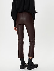 2NDDAY - 2ND Leya - leather trousers - chocolate plum - 3