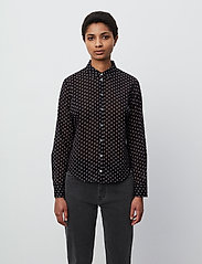 2NDDAY - 2ND Stace ThinkTwice - long sleeved blouses - black - 0