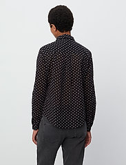 2NDDAY - 2ND Stace ThinkTwice - long sleeved blouses - black - 3