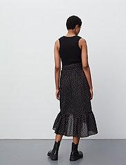 2NDDAY - 2ND Mora Dot ThinkTwice - midi skirts - black - 3