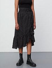 2NDDAY - 2ND Mora Dot ThinkTwice - midi skirts - black - 4