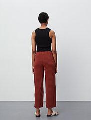 2NDDAY - 2ND Elmira - bukser med brede ben - henna - 3