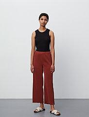 2NDDAY - 2ND Elmira - bukser med brede ben - henna - 4