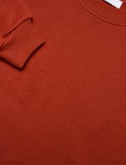 2NDDAY - 2ND Sweat Thinktwice - sweatshirts & hættetrøjer - red ochre - 5