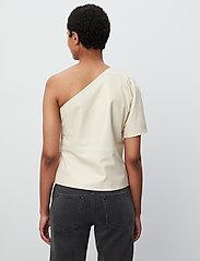 2NDDAY - 2ND Erika - short-sleeved blouses - fog - 3
