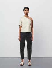 2NDDAY - 2ND Erika - short-sleeved blouses - fog - 4