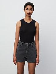 2NDDAY - 2ND Goa Thinktwice - jeansshorts - un black denim - 4