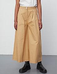 2NDDAY - 2ND Iva Thinktwice - bukser med brede ben - lark - 5