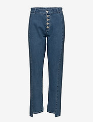 2NDDAY - 2ND Marill - straight jeans - indigo heavy enzyme - 0