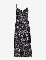 2NDDAY - 2ND Paula Printed - midi kjoler - syrah - 0