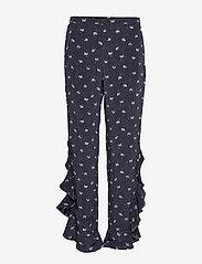 2NDDAY - 2ND Ursula Anemone - wide leg trousers - black - 0