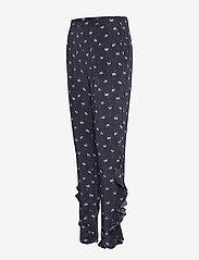 2NDDAY - 2ND Ursula Anemone - wide leg trousers - black - 2