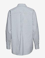 2NDDAY - 2ND Floyd Stripe - long-sleeved shirts - posy green - 1
