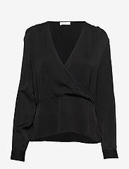 2NDDAY - 2ND Editha - long sleeved blouses - black - 0