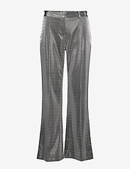 2NDDAY - 2ND Farrow - wide leg trousers - silver - 0