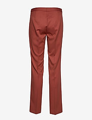 2NDDAY - 2ND July - straight leg trousers - red ochre - 2