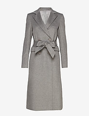 2NDDAY - 2ND Dusterly - wool coats - medium grey mel. - 1