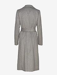 2NDDAY - 2ND Dusterly - wool coats - medium grey mel. - 2