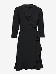 2NDDAY - 2ND Elly - robes portefeuille - black - 0