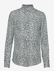 2NDDAY - 2ND Anastasia Springle - blouses med lange mouwen - atlantic deep - 0